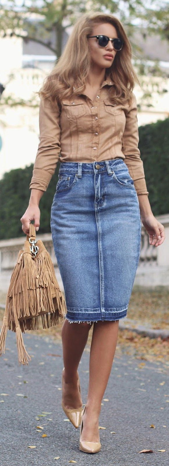 Jean Skirt Ideas