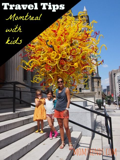 Family travel, ideas in #Montreal #travel #kids