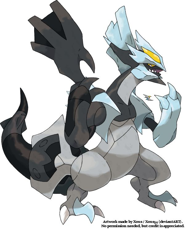 Black+Kyurem+by+Xous54.deviantart.com+on+@deviantART ...