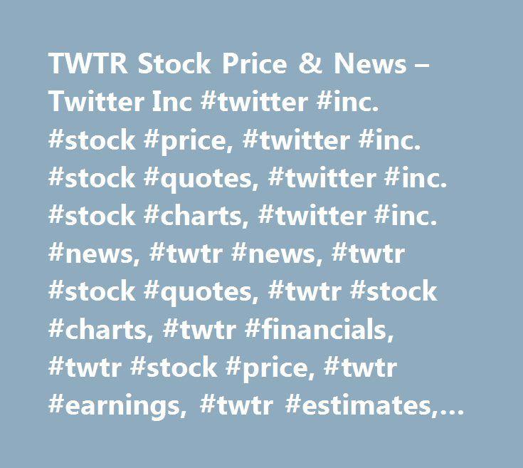 Twtr stock quote