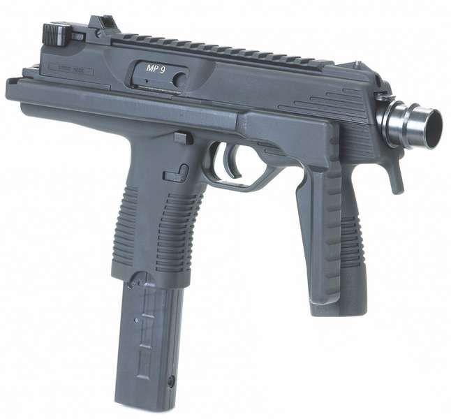 Brugger & Thomet MP9 Submachine Gun/PDW