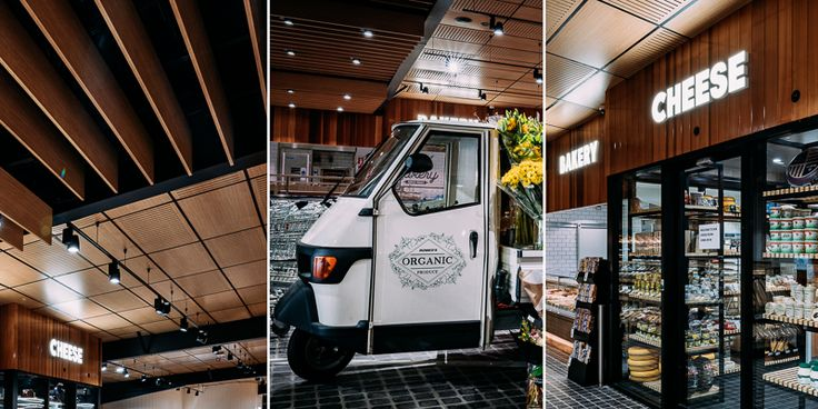 Summer Hill IGA designed by loopcreative #interior #FMCG #supermarket #design
