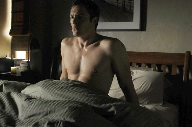 A shirtless Tahmoh Penikett. Probably the real reason why a lot of ladies watched 'Dollhouse.' ;)
