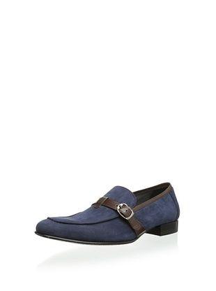 63% OFF Mezlan Men's Antonello Slip-On (Blue/Brown)