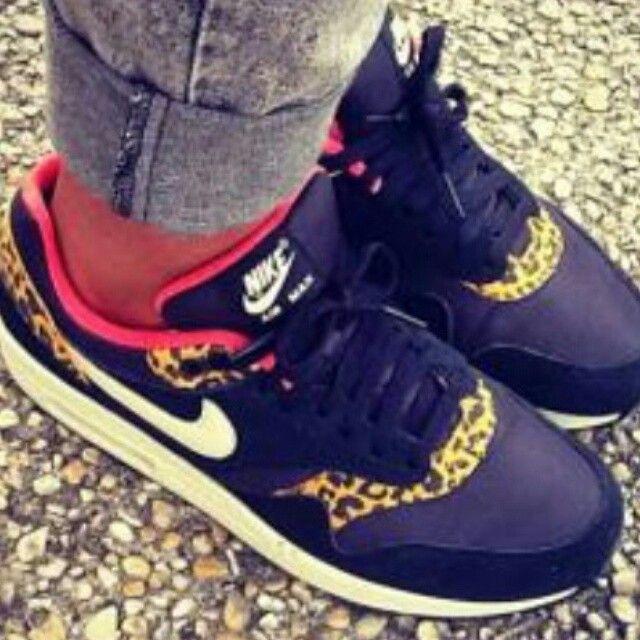 #nike #airmaxone #swagg #leopard