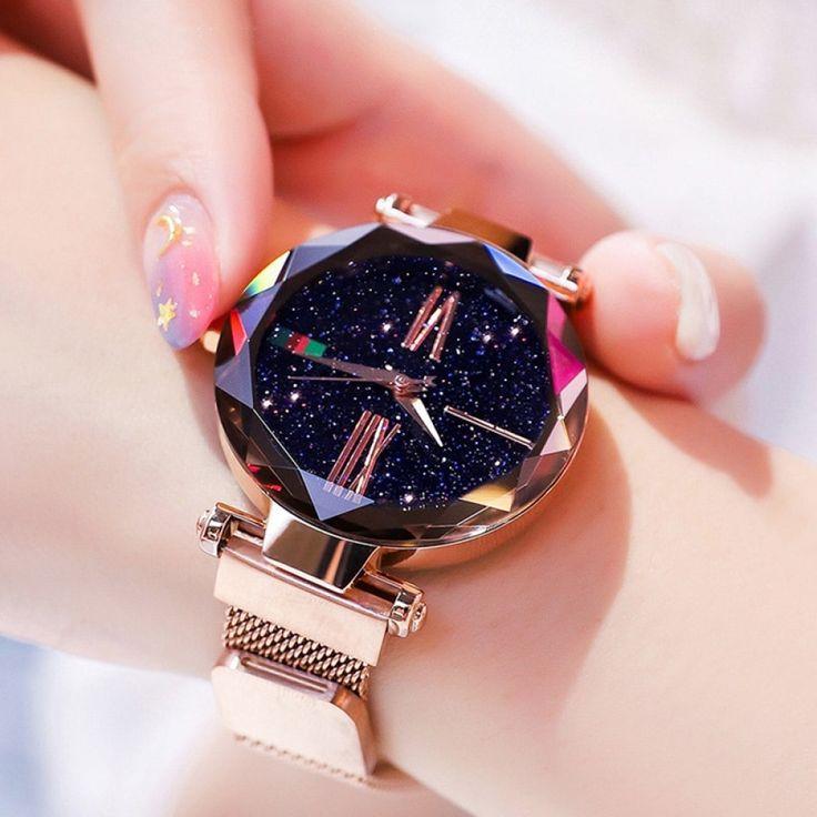 Luxury Starry Sky Magnetic Waterproof Watch