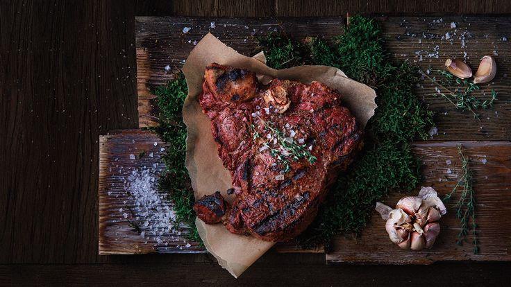 MEAT Steak House on Behance