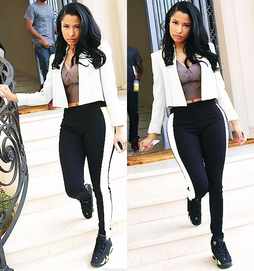 dollsofbeauty:  kingsxoqueens:    She look soo good now whole different nicki