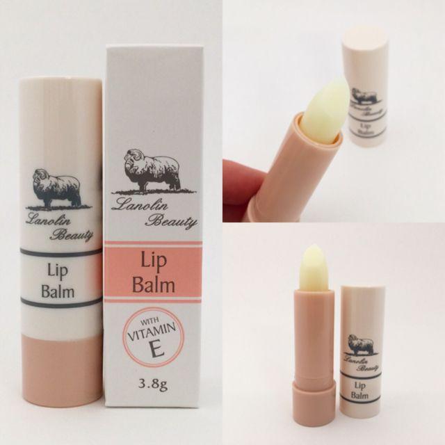 Lanolin Lip Balm with Vitamin E. Australian Made.