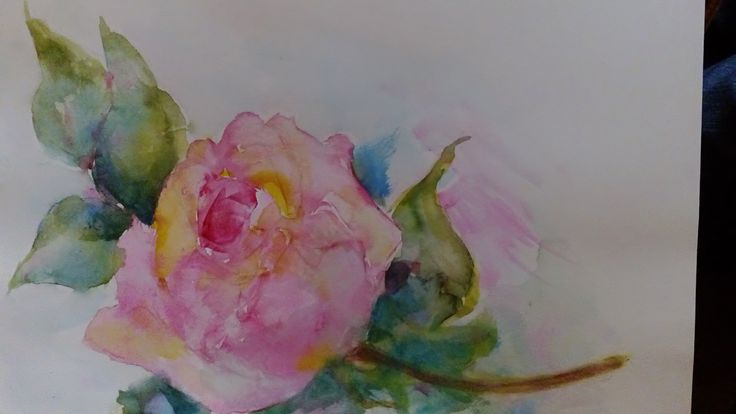 Rose Garden watercolor