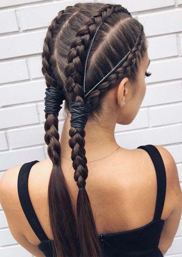 10 Creative Hair Braid Style Tutorials New Site Geflochtene Frisuren Flechtfrisuren Zopffrisuren