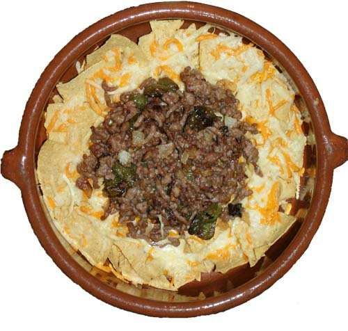 Nachos O Totopos Con Carne