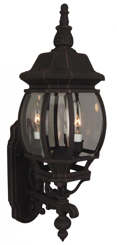 Coach lights Three Light Wall Lantern