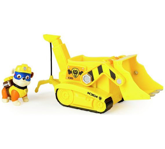 Buy PAW Patrol Super Rubble's Crane Vehicle at Argos.co.uk, visit Argos.co.uk to shop online for Action figures and playsets, Toys