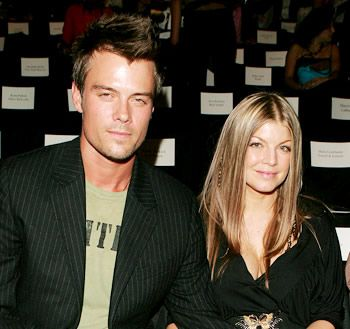 Fergie  with her husband Josh Duhamel