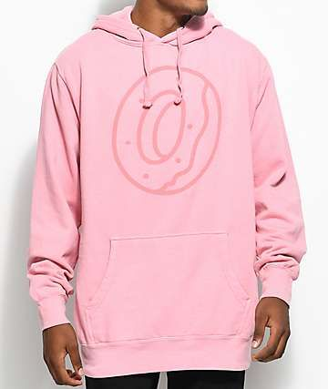 605f64aa8ef45a Odd Future Outline Donut Pink Dye Hoodie