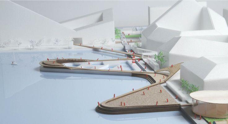 BIG diseña nuevo barrio que busca reactivar el borde de Aarhus en Dinamarca