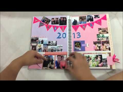 Memories Scrapbook for Boyfriend - YouTube