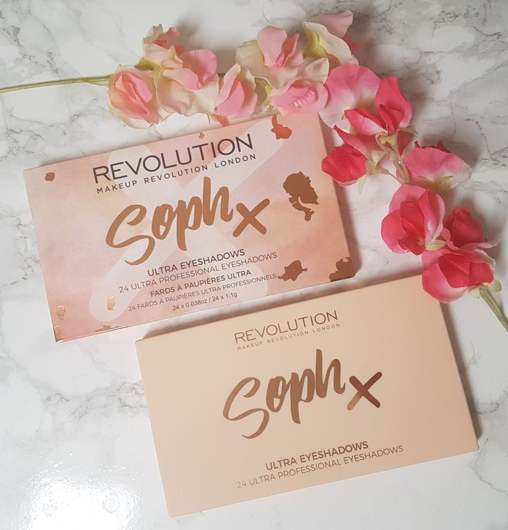 Makeup Revolution Soph X 24 Eyeshadow Palette | Review and Swatches – Sparkle with Kerry