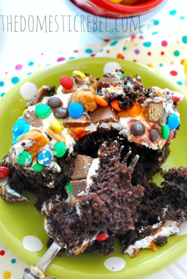 89 Best Poke Hole Cakes Images On Pinterest Petit