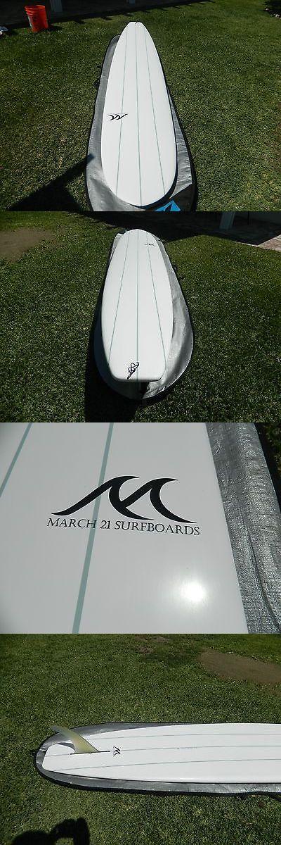 Surfboards 22710: New 9 8 Epoxy Longboard, Single Fin Malibu Glider. -> BUY IT NOW ONLY: $350 on eBay!