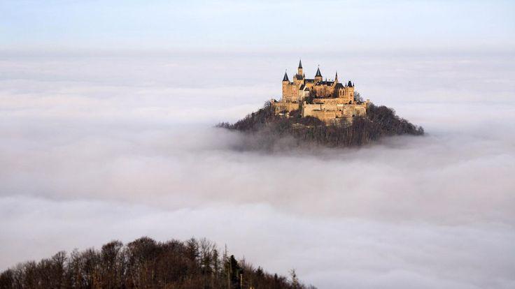 ドイツにある天空の城