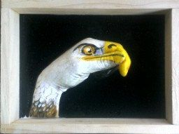 Eagle hand animal by 100percenthandmad on Etsy