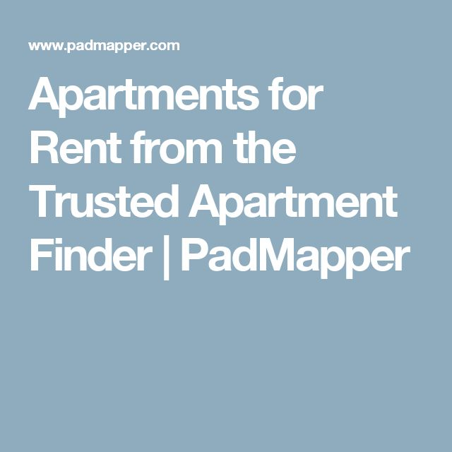 Apartments for Rent from the Trusted Apartment Finder | PadMapper