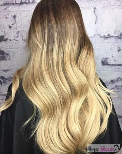 Ombre Haarfarbe