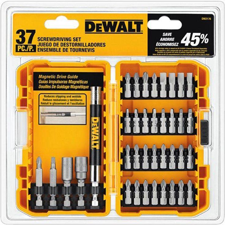 DEWALT Screwdriving Set with Tough Case (37-Piece)