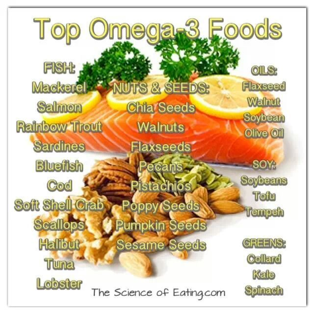 Foods High In Omega  Vs Omega