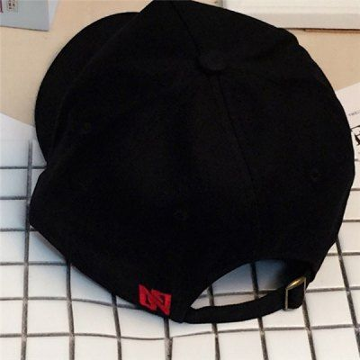 Baseball Hat with Cross Fingers Print #CLICK! #clothing, #shoes, #jewelry, #women, #men, #hats