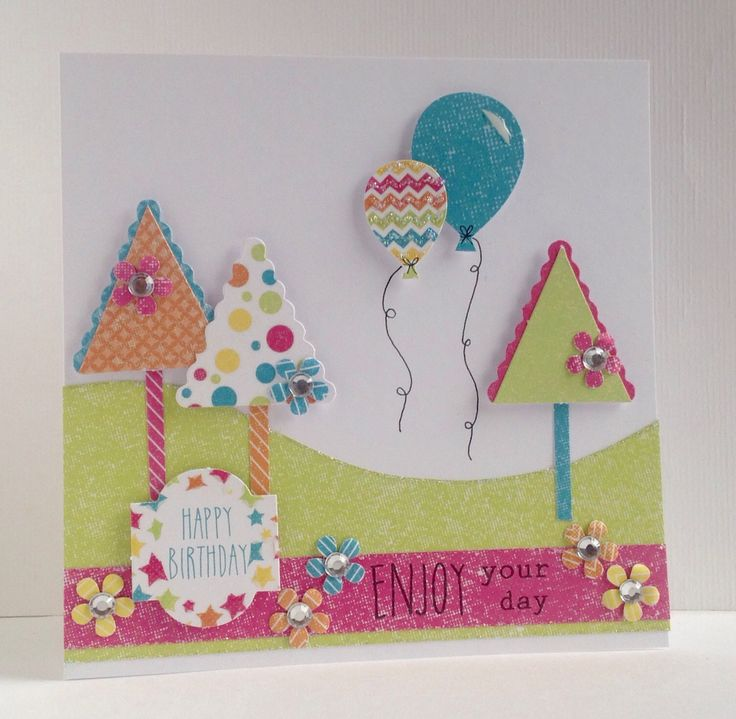 Card made by Julie Hickey, using the Celebrations kit from Craftwork Cards