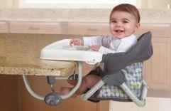 CADEIRINHA DE ALIMENTAÇÃO PORTÁTIL 3 em 1 DA SUMMER - Para quem está pensando em um produto prático para o horário da refeição do filho, vem conhecer: www.bebe123.com.br #produtos #bebe #gravidez #alimentação #flhos #crianças #mães