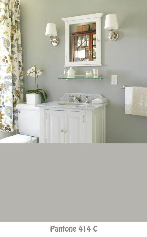 Photo Image Farrow u Ball paint in Lamp Room Gray Bathroom Paint ColorsGray Paint