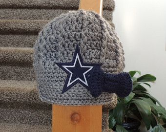 Dallas Cowboys Knit Hat Pattern : 1000+ ideas about Cowboy Crochet on Pinterest Crocheting, Crocheted Afghans...