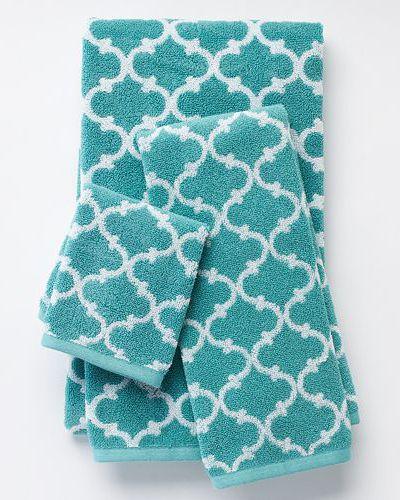 Ultimate Performance Lattice Bath Towels