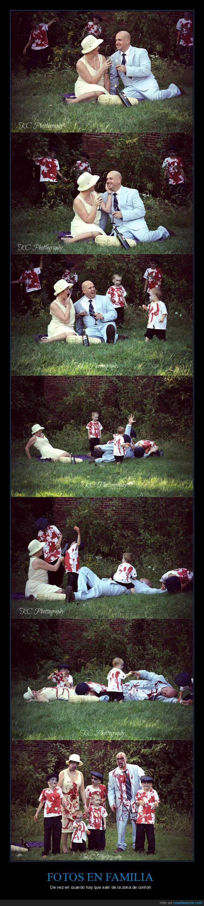 Esta familia se hace una sesión de fotos ambientada en zombies que vas a querer imitar - De vez en cuando hay que salir de la zona de confort   Gracias a http://www.cuantarazon.com/   Si quieres leer la noticia completa visita: http://www.skylight-imagen.com/esta-familia-se-hace-una-sesion-de-fotos-ambientada-en-zombies-que-vas-a-querer-imitar-de-vez-en-cuando-hay-que-salir-de-la-zona-de-confort/
