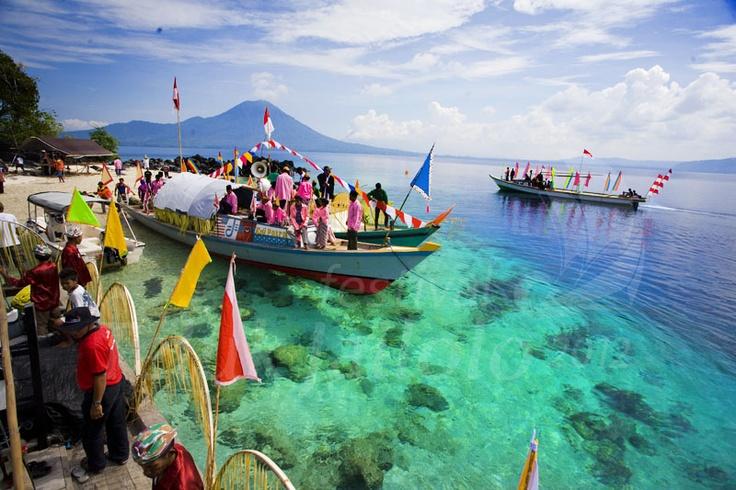 Festival Teluk Jailolo - Maluku, Indonesia
