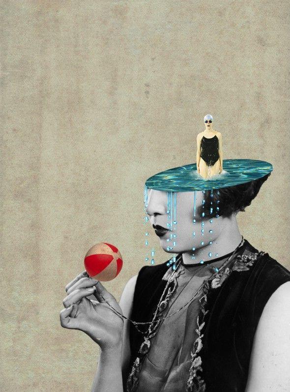 Photo Collages / Julia Geiser | AA13 – blog – Inspiration – Design – Architecture – Photographie – Art