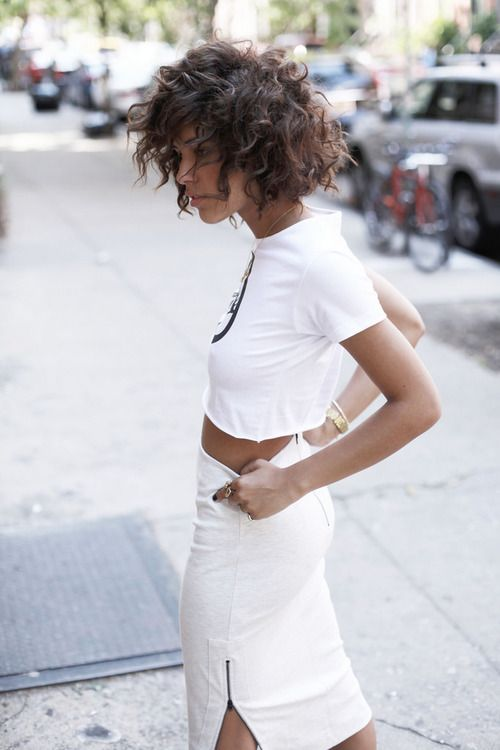 a top from Kerol and skirt from French Connection