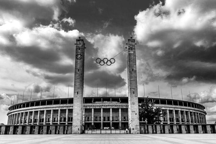 Stade olympique Berlin #europe #JO #sport #architecture #souvenir #voyage