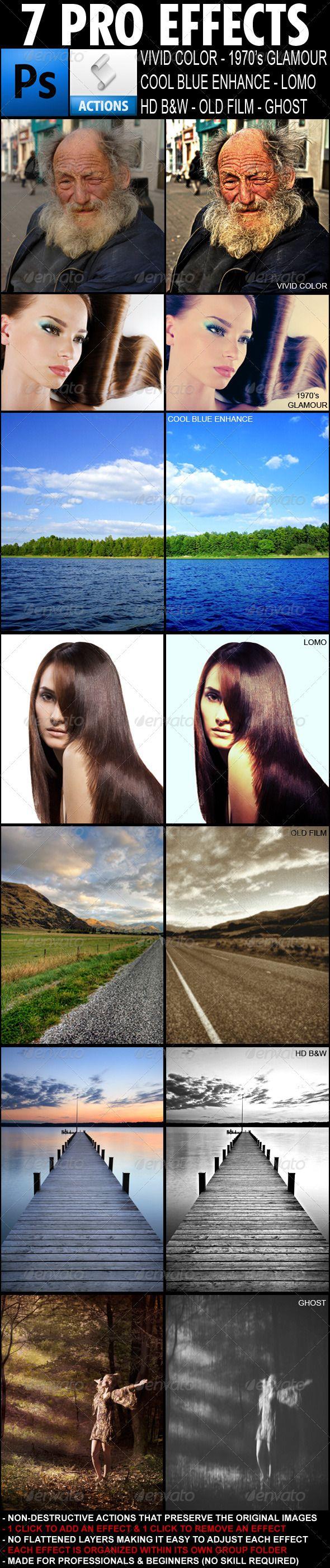7 Pro Photo Effects