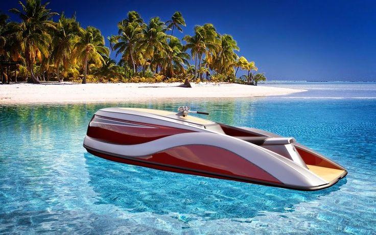 VIDEO - découvrez le yacht des jet skis, puissance V8