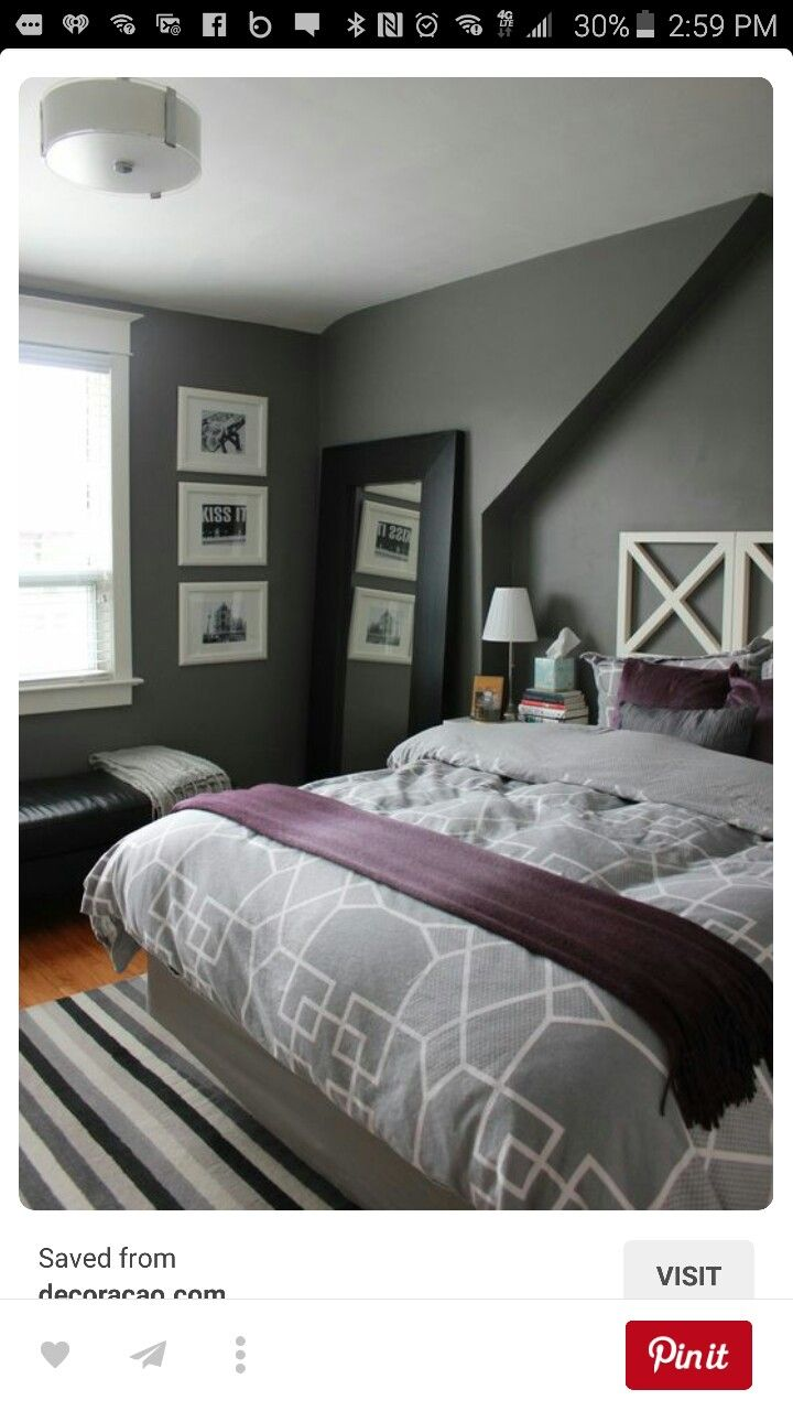 best 25 purple grey bedrooms ideas on pinterest purple bedroom decor purple and grey bedding. Black Bedroom Furniture Sets. Home Design Ideas