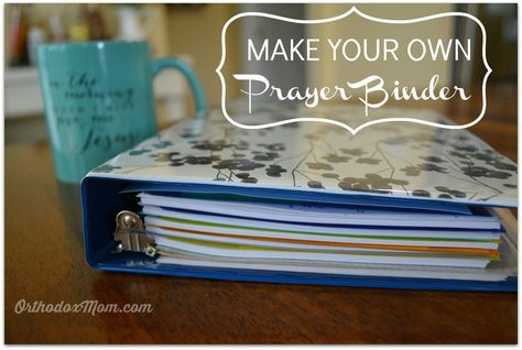 Strengthen your prayer life with the help of a Prayer Binder! Easy DIY instructions here!