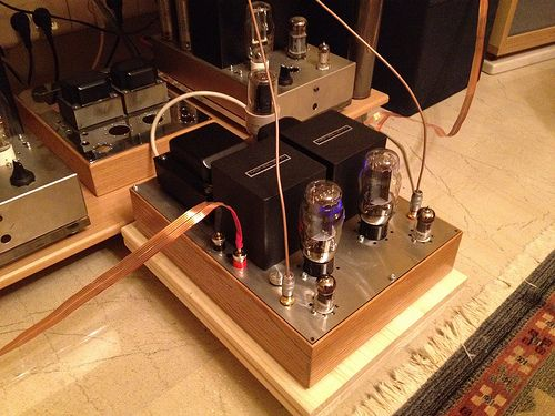 2A3 'Loftin White' Single-ended amplifier. Build by Saris ...