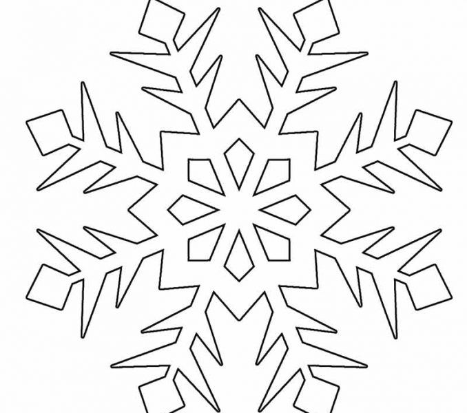 snowflake coloring page printable snowflake coloring pages