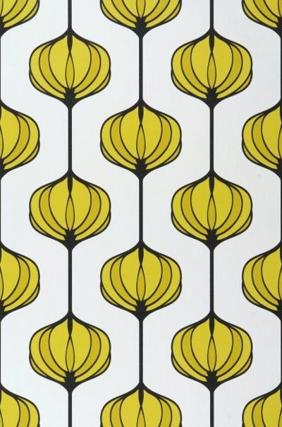 25 best ideas about art nouveau pattern on pinterest - Papier peint style annee 70 ...