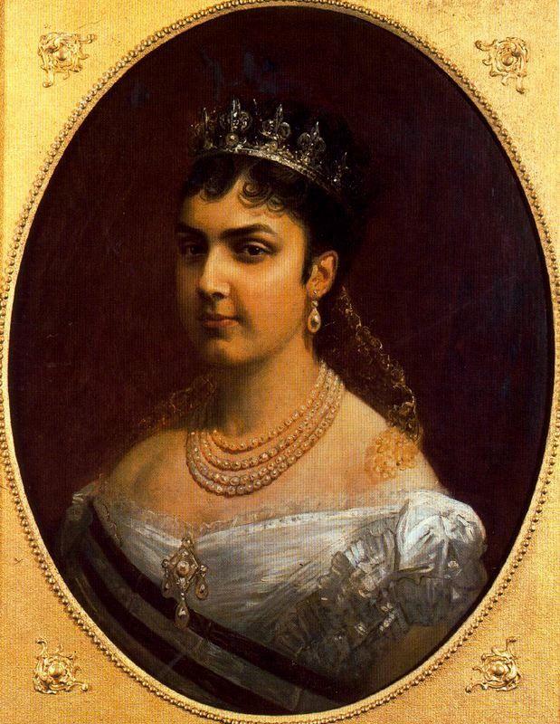 La reina Reina Mercedes